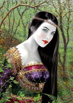 Snow White by Maxine Gadd / Fantasy Art Fantasy Women, Fantasy Art, Illustrations, Illustration Art, Fairytale Art, Oracle Cards, Fairy Art, Grimm, Beautiful Artwork