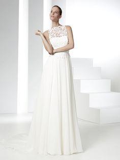 Raimon Bundo collezione 2016 abiti sposa modello Padua