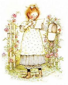 It's been a minute since I've seen this!  // Holly Hobbie