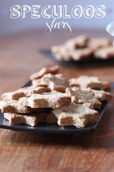 speculoos stars by madame-love.Receipe for the Speculoos dough:for 40 to 50 pieces – preparation : 10 minutes.500g flour,180 g salted butter,300 g brown sugar (Vergoise),1 egg,1 teaspoon yeast,2 g of salt,8 cl milk  2 soup spoons of speculoos spices.Pre-heat the oven to 170 degrees Celsius.Flour the work surface. Use a rolling pin to achieve flat dough around 3-4 mm in height. Cut into shapes. place in the preheated oven for around 15 minutes.If the speculoos are golden,take  out of the…