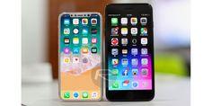 Ver cómo el iPhone 8 tamaño de la pantalla se compara con el 7 Plus y todos los anteriores iPhones