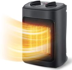 Space Heater, 1500W Electric Heaters Indoor Portable with Thermostat , PTC Fast Heating Ceramic Room Small Heater with Heating and Fan Modes for Bedroom, Office and Indoor Use Best Space Heater, Portable Space Heater, Oil Heater, Tower Heater, Radiant Heaters, Small Rooms, The Best, Indoor, Ceramics
