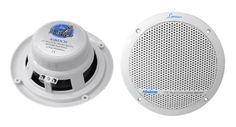Lanzar AQ6DCW 360 Watts 6.5-Inch Dual Cone Marine Speakers, White Color – Set of 2 #deals