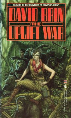Michael Whelan, The Uplift War by David Brin.