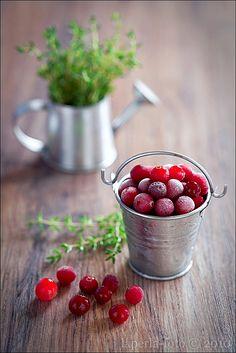 Frozen cranberries by laperla2009, via Flickr