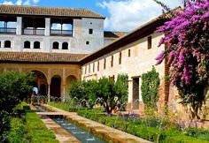 Der Generalife-Palast in der Alhambra