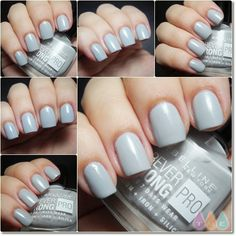 cloudy-grey-maybelline Neeed! Been looking for a pale grey blue for a while. This may just be grey though, i'm somewhat colour blind with certain shades of blue