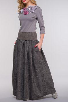 Купить Блузка Kata Binska KELLI 7900 СЕРЫЙ со скидкой в интернет-магазине kupivip.ru - распродажа