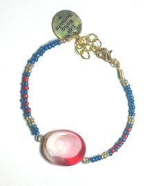 DW Boho Jewels bracelet - america door DWBohoJewels op Etsy