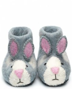 Felt Slippers Rory Rabbit