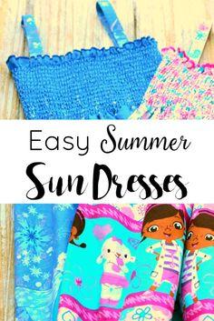 Easy Summer Sun Dres