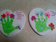 Mother's Day Crafts we made!
