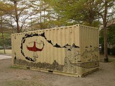 Sustainable Cosmopolis: Eco-container Art Project