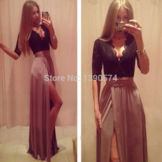 Beautiful Prom Dress, prom dresses prom gowns prom dresses 2018 chiffon party dresses long prom gown charming evening dress with long sleeves Meet Dresses Prom Dresses 2018, Long Prom Gowns, Prom Dresses With Sleeves, Sexy Dresses, Evening Dresses, Formal Dresses, Party Dresses, Dress Prom, Dress Sleeves