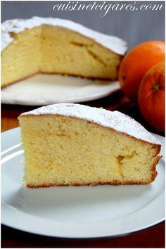 Gâteau à l'Orange Trio 20