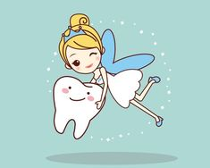 Everyone remembers visits from the tooth fairy! August 22 is National #ToothFairy day