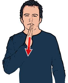 Sad Description: Flat hand held vertically starts in front of mouth and makes a downward movement - with sad expression. Definition: Unhappy or without joy. - See more at: http://www.british-sign.co.uk/british-sign-language/how-to-sign/sad/#sthash.RprhjPFG.dpuf