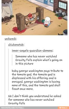 Welcome to the Gravity Falls fandom. You can't tell what's real and what's not anymore.