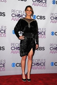 Jennifer Lawrence's Fashion Timeline | At the 39th Annual People's Choice Awards in Los Angeles, January 2013.