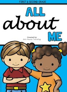 All About Me: All About Me Booklet + All About Me Printables and Activities (First & Second Grade)