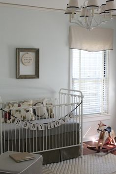 Classic Nursery with sentimental touches