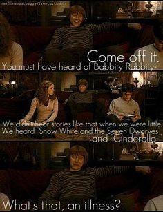Haha, Ron Weasley