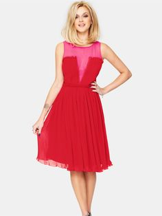 Fearne CottonPleated Occasion Dress