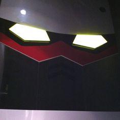 Gundam face mirror
