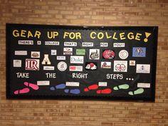 Guidance Bulletin Boards, Counselor Bulletin Boards, College Bulletin Boards, College Board, Classroom Bulletin Boards, College Counseling, College Classes, School Counselor, College Advisor