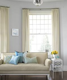Clean your curtains without removing them