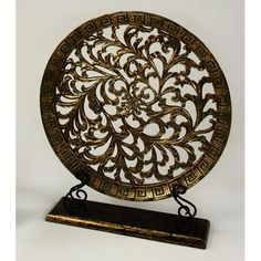 Decorative Plate With Stand