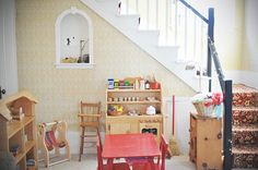 waldorf playroom | The cupboards were ripped out yesterday. Oh my. This is the ...