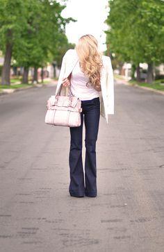 kooba sabrina bag - wavy hair-love story jeans   Flickr - Photo Sharing!