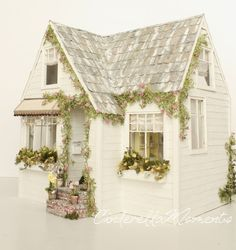 Sunny Side Up Custom Furnished Dollhouse by cinderellamoments