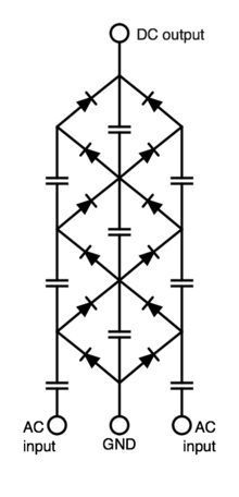 Cockcroft–Walton generator - Wikipedia