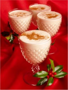 Exotic Alcoholic Eggnog Recipe