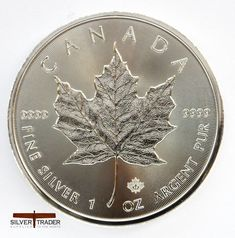 The 2017 Canadian Maple Leaf 1 ounce Silver bullion Coin is the official bullion coin of Canada, one of the most sought after bullion coins in the world.