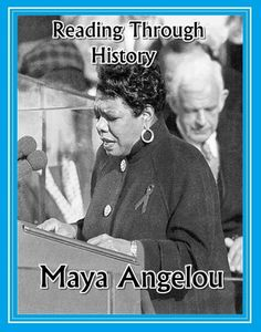 This is a five page unit from Reading Through History documenting the life and achievements of Maya Angelou. There is a two page biography followed by three pages of student activities. The student activities include multiple choice questions, a student response essay question, a guided reading activity, and vocabulary activities. There is enough material to cover around 40 minutes of class time.