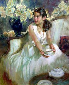 John Michael Carter 1950 | American Impressionist Figurative painter