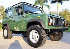 1997 Land Rover Defender 90 West Palm Beach, FL #landroverpalmbeach #landrover #rangerover