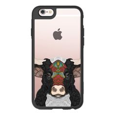 Billy the bull - iPhone 6s Case,iPhone 6 Case,iPhone 6s Plus... (130 BRL) ❤ liked on Polyvore featuring accessories, tech accessories, iphone case, iphone hard case, clear iphone cases, apple iphone cases, iphone cases and iphone cover case