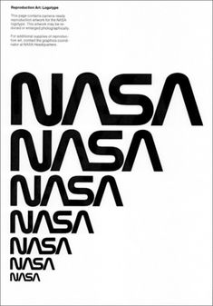 el logo de la Nasa
