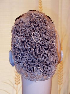 Authentic Antique Beaded Snood Hair Net - Museum Qaulity from www.banglesandbeadsonline.com