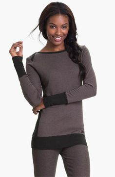 Earn 6% for causes on Enlightened.org when you purchase: DKNY Banded Base Layer Top. This is a great basic... you can dress it up or dress it down :)