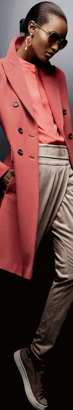 Madeleine Coat in Rosewood