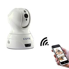 YANX Full HD Wireless Smart PTZ Cloud IP CameraWIFI  Wired Video MonitoringIR Night VisionTwoways Audio TalkMultiple People Veiwing Phone AlarmQuick SetupPlug Play Monitor ** See this great product. Baby Monitor, Ip Camera, Night Vision, Cloud, Audio, Home Appliances, Play, Phone, Kids