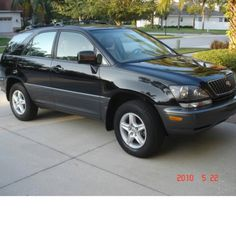 Lexus RX 300 had black on black with the reflective tint. Loved that car!