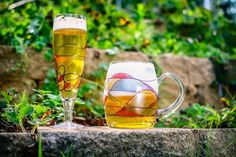 """8-pc Milano Beer Combo Set: 4 Pilsners 4 Beer Mugs *Milano Romanian Crystal  4 Milano Pilsner Beer Glasses #503 Holds 10 oz is 7 3/4"""" High  4 Milano Beer Mugs #566 Holds 20 oz is 4 3/4"""" High  The Fabulous Pilsner design allows drinkers to appre..."""