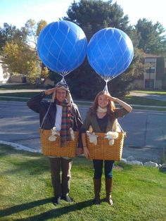 my halloween costume for my date and i this year hot air balloon pilots - Halloween Date This Year
