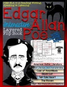 packet of three graphic organizers for edgar allen poe stories heart graphics and organizers. Black Bedroom Furniture Sets. Home Design Ideas